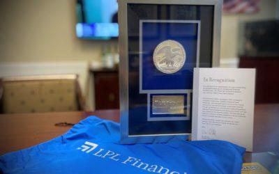 DANIEL S. ROMERO HONORED AS ONE OF LPL FINANCIAL'S TOP FINANCIAL ADVISORS