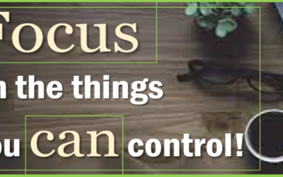 Focusing on Factors You Can Control